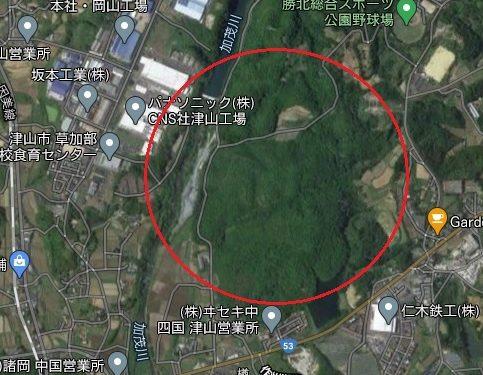 津山市楢事業用土地【売買】